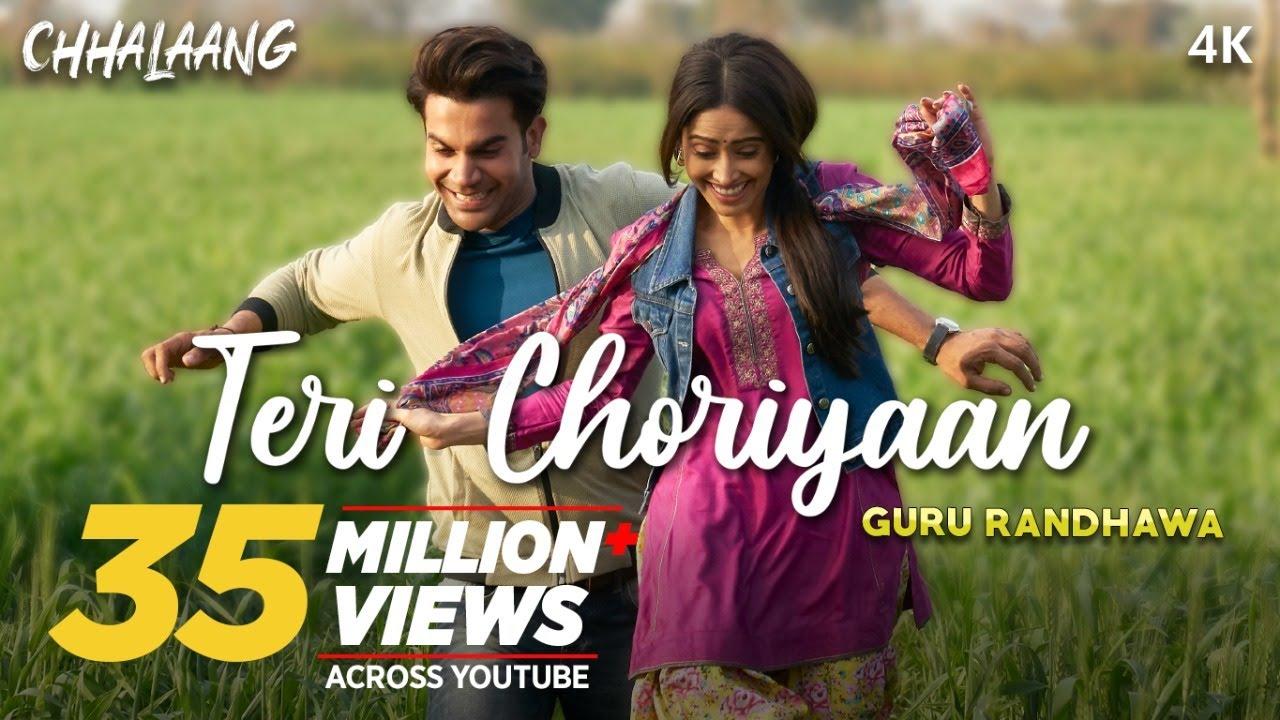 Chhalaang: Teri Choriyaan | Rajkummar R, Nushrratt B | Guru Randhawa, VEE, Payal Dev