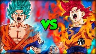 Goku ssj blue (kaioken x10) vs goku ssj god