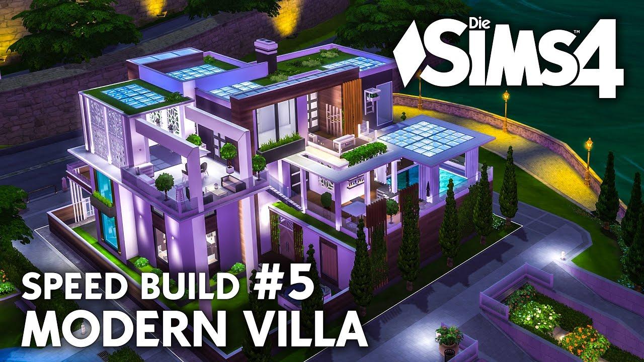 Party Pool Wellness Die Sims 4 Haus Bauen Modern Villa 5