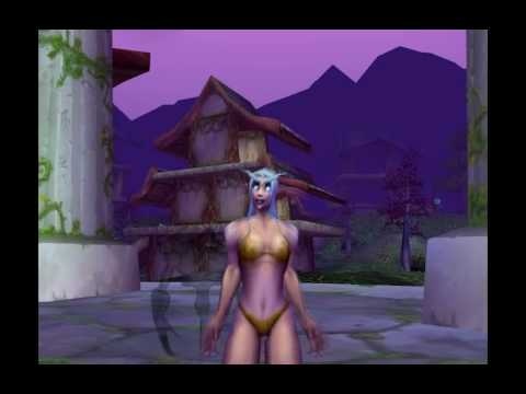WoW Night Elf Female Dance from YouTube · Duration:  18 seconds
