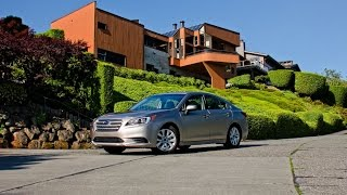 2015 Subaru Legacy 2.5i Premium Car Review