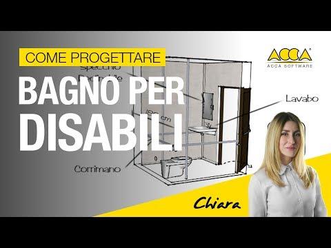 Come progettare un bagno per disabili con il software bim edificius 66 youtube - Progettare bagno disabili ...