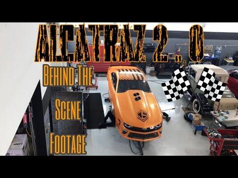 Alcatraz 2.0 Motor Assemble & Startup BTS Footage (Justin Swanstrom) -Alex Stavrinos