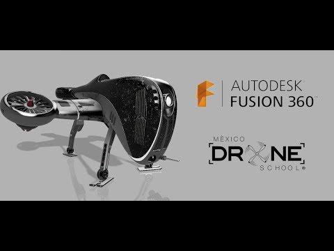 Design a Drone in Autodesk Fusión 360