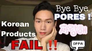 Testing New Makeup (Korean Products) from Myeondong !EPIC FAIL!