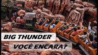 *POV* Rolê na Montanha Russa Big Thunder Railroad no Magic Kingdom