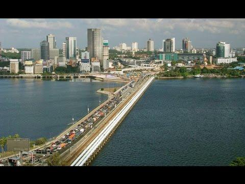 Singapore Malaysia Border Causeway Bridge