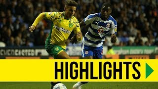 HIGHLIGHTS: Reading 1-2 Norwich City