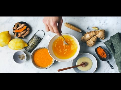 Ginger, Turmeric, Lemon and Honey -  Tea health and longevity / Natural Master No.1