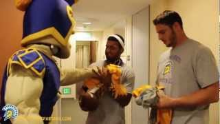 SJSU Football Dorm Divers