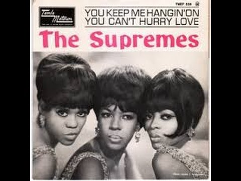 You Can't Hurry Love by The Supremes w/ lyrics - YouTube