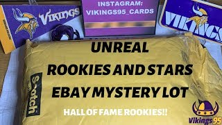 UNREAL Rookies & Stars Mystery Lot! Hall of Fame Rookies!!