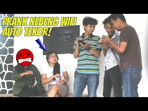 Lagu Video Prank Nebeng Wifi Youtuban Rame Rame Auto Tekor ! Terbaru