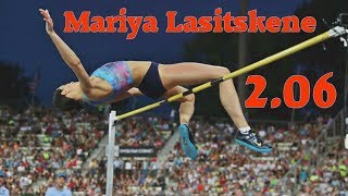 Mariya Lasitskene 2.06 - WL, DLR & MR - July 6, 2017 - DL Lausanne