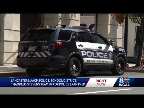 Lancaster taking steps to diversify police force