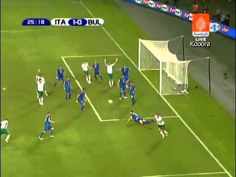 Best Save Ever Gianluigi Buffon - Italy vs Bulgaria