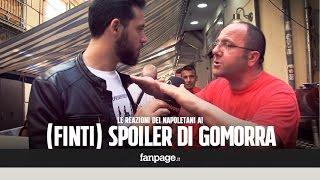 Le reazioni dei napoletani allo spoiler di Gomorra [SCHERZO] thumbnail