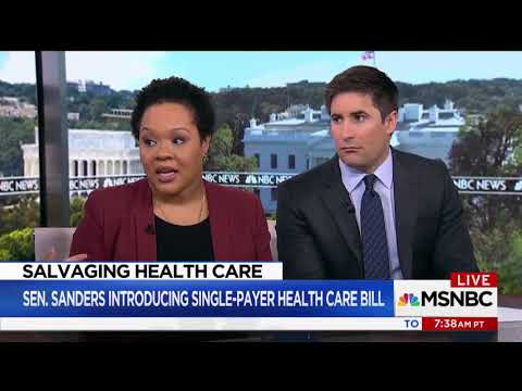 """NYT's Yamiche Alcindor: Medicare For All Will Be """"Super Expensive,"""" Litmus Test For 2020 Democrats"""