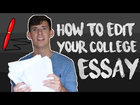 Видео Essays to edit