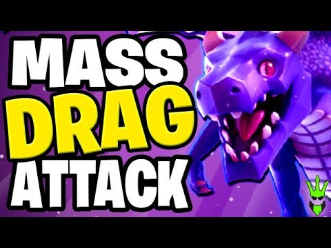 CRAZY MASS DRAGON 3 STAR CWL ATTACK! - TH12 Air War Strategies -