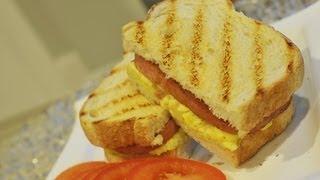 Ω (hd) Asmr / Whispers - Eating Spam N Egg Grilled Sandwich & Drinking Ginger Ale