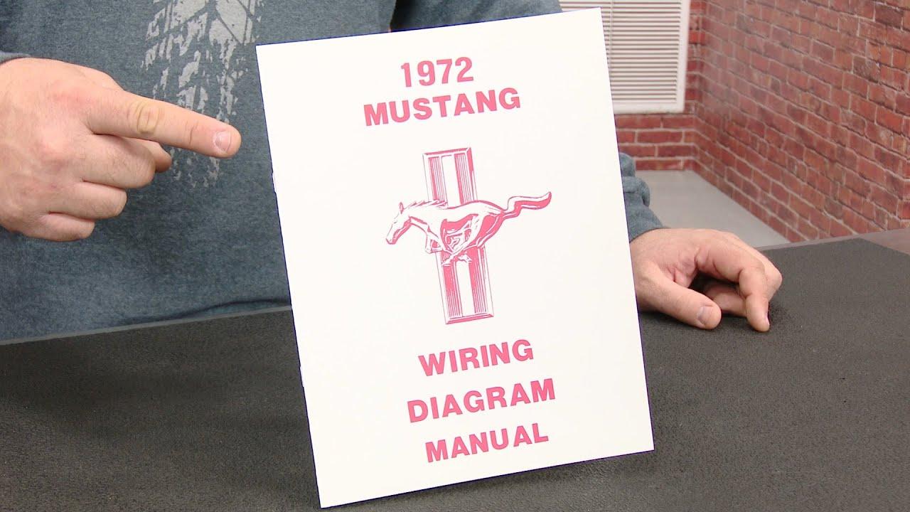 Jim Osborn Reproductions Wiring Diagram Manual For All 1970 Mustangs