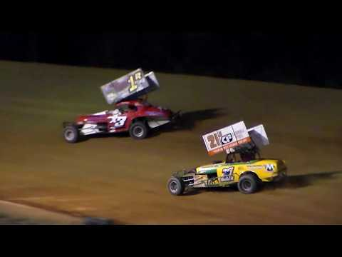 Dog Hollow Speedway - 10/21/17 Vintage Modified Feature Race