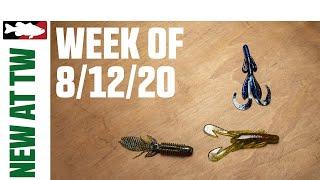 New Zoom Soft Plastics, Big Bite Baits, and Lunkerhunt Bags - WNTW 8/12/20