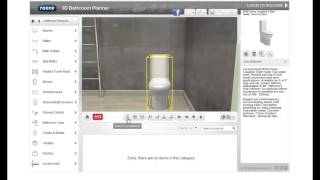 Tutorial 1 - Getting Started. Reece 3d Bathroom Planner.