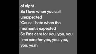 The weeknd - earned it (lyrics)