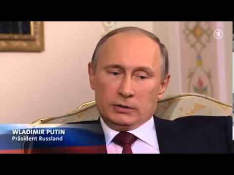 Putin nimmt schlecht vorbereiteten WDR Chefredakteur auseinander 1/3
