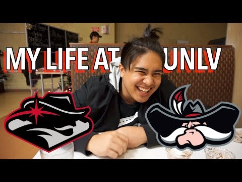 MY LIFE AT UNLV! Mini campus tour, Dancing, and Racquetball