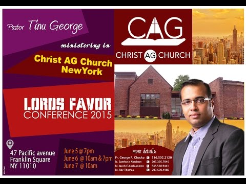CHRIST AG: LORDS FAVOR CONFERENCE 2015 | Sunday Morning