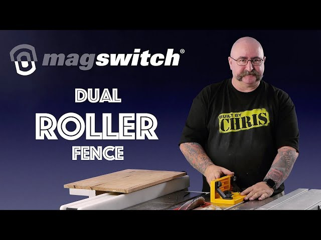 The Magswitch Dual Roller Fence