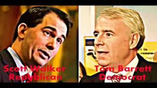 Wisconsin Debate Scott Walker Tom Barrett