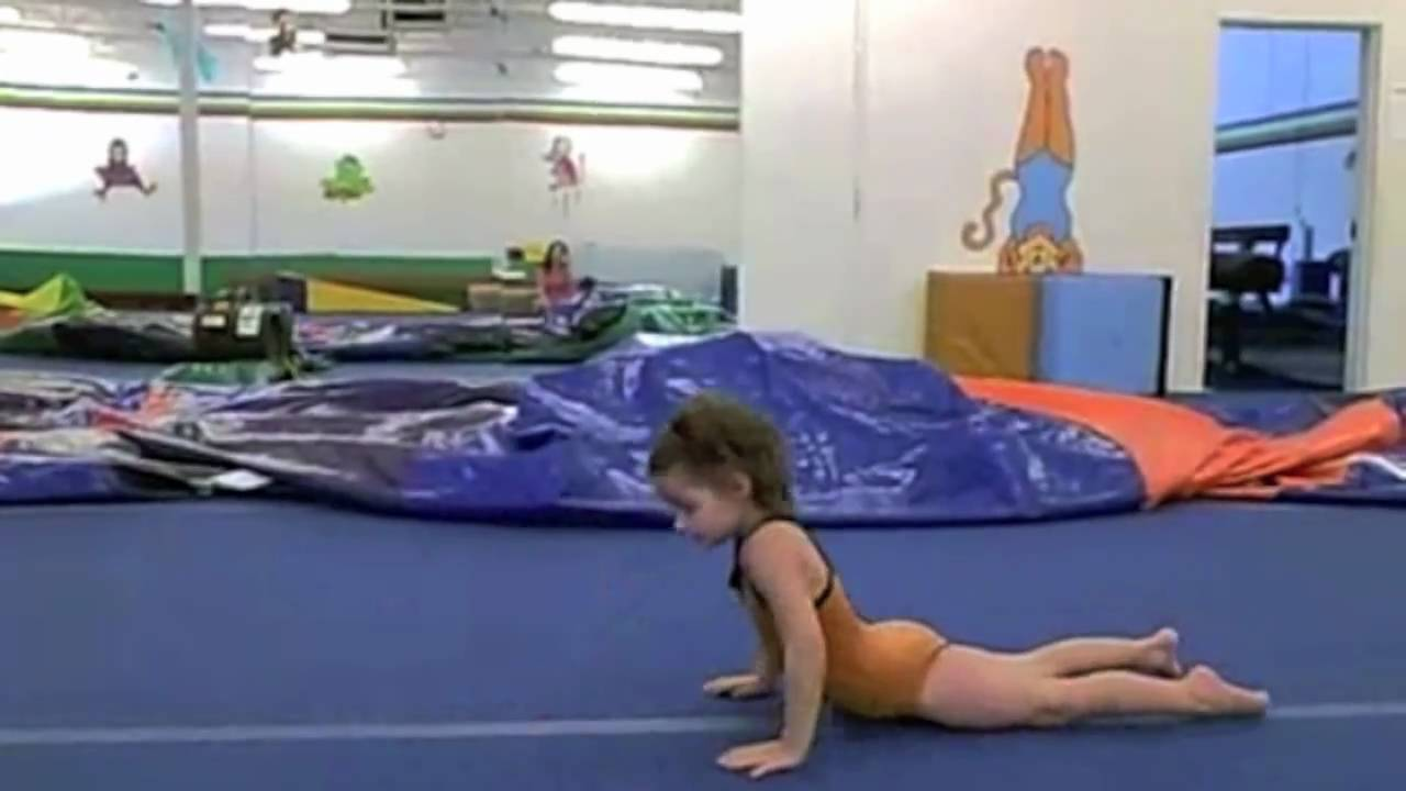 Gymnastics floor routine level 1 2 and 3 funnycat tv for Floor gymnastics