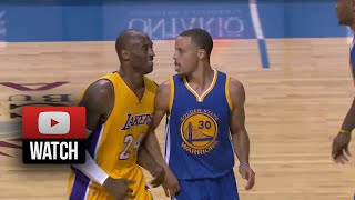 Stephen Curry Full Highlights vs Lakers (2014.10.12) - 25 Pts, Owns Kobe & His Team! thumbnail