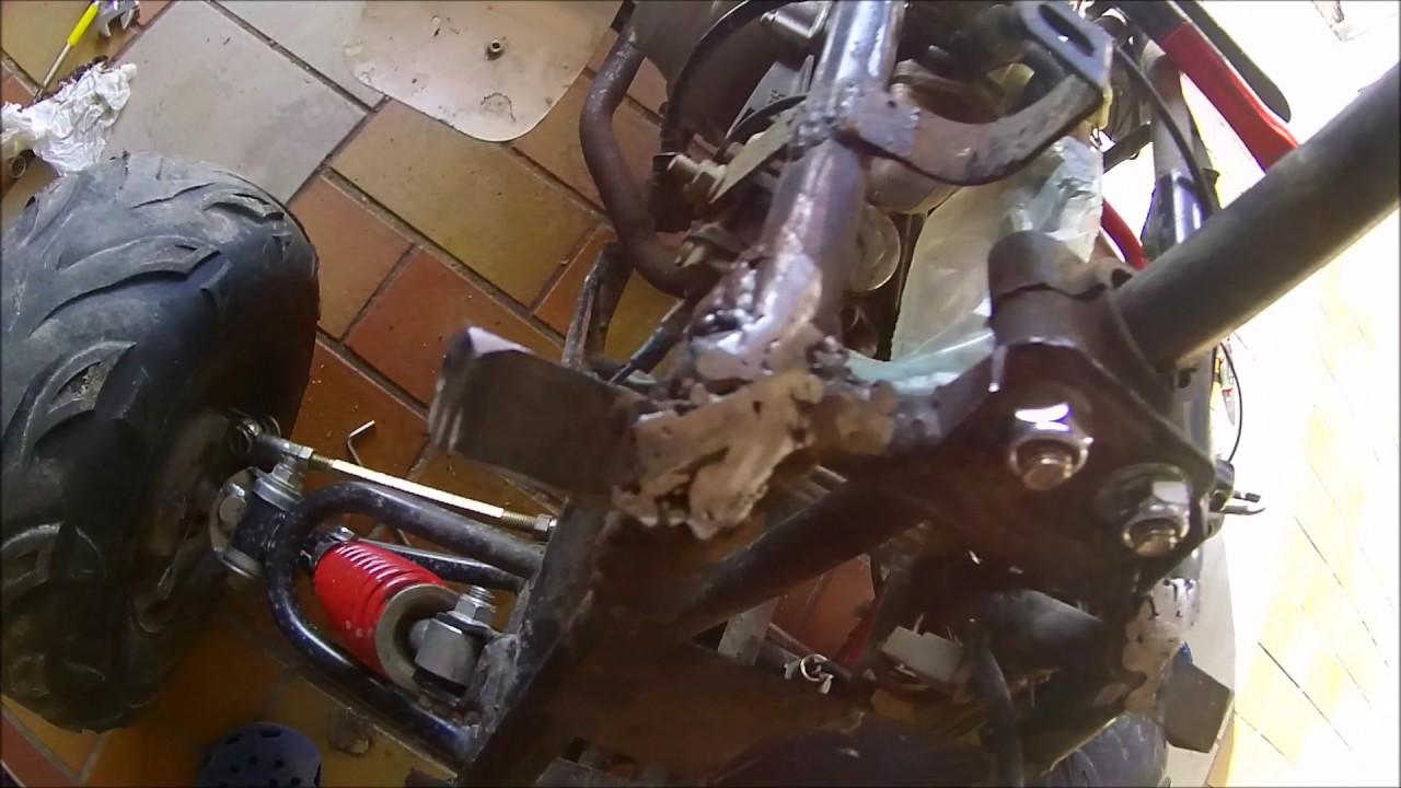 Rahmen Reparieren, Schweißen (Tutorial) - YouTube