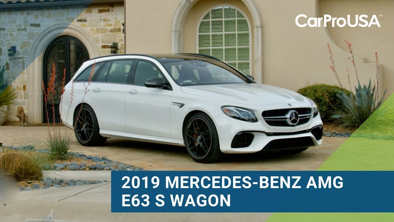2019 Mercedes-Benz AMG E63 S Wagon Review   CarProUSA