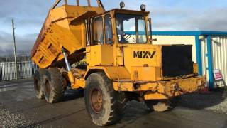 MOXY D16B 26 TON 6x6 ARTICULATED DUMP TRUCK C/W 6 CYLINDER SCANIA ENGINE