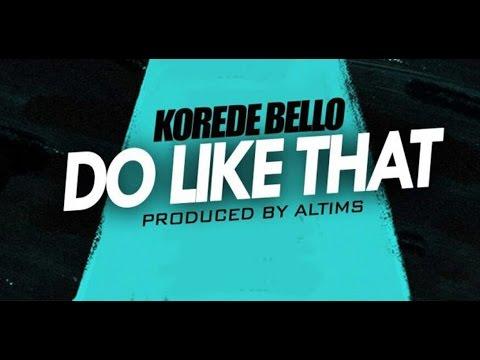 Korede Bello - Do Like That (Instrumental) Remake