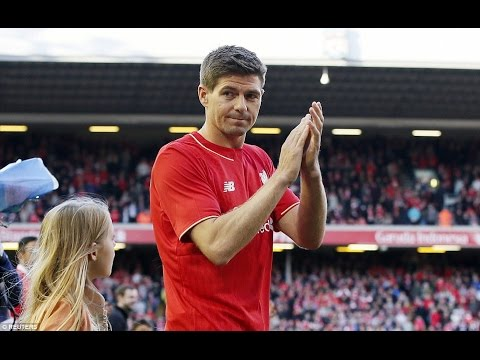 Steven Gerrard  ●  Last Match for Liverpool ● Final Farewell ● TRIBUTE ● HD