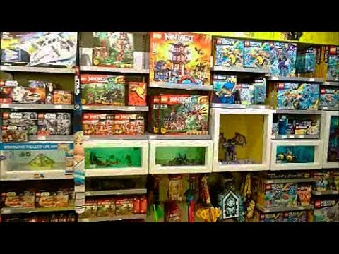 Trip To The Lego Shop in Glasgow - YouTube