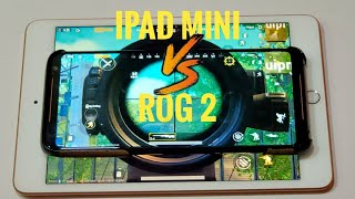 Asus ROG Phone 2 vs iPad Mini 5 (2019) PUBG Gaming Review / Snapdragon 855 plus vs a12 bionic
