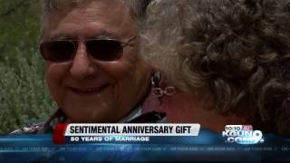Tucson husband surprises wife with sentimental 50th anniversary gift
