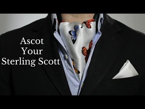 Rock Your Sterling Scott Like An Ascot