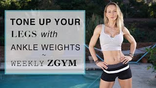 TONE UP YOUR LEGS WITH ANKLE WEIGHTS  | ZGYM WEEKLY COFFEE TALK
