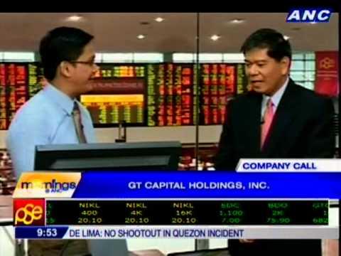 Company Call: GT Capital Holdings, Inc.