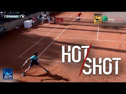 Hot Shot: Dzumhur Flicks No-Look Winner