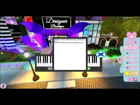 Roblox Piano Fur Elise Easy Royale High Youtube